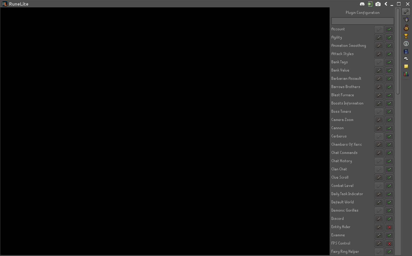 Client black screen on Ubuntu 16 04 · Issue #2675 · runelite