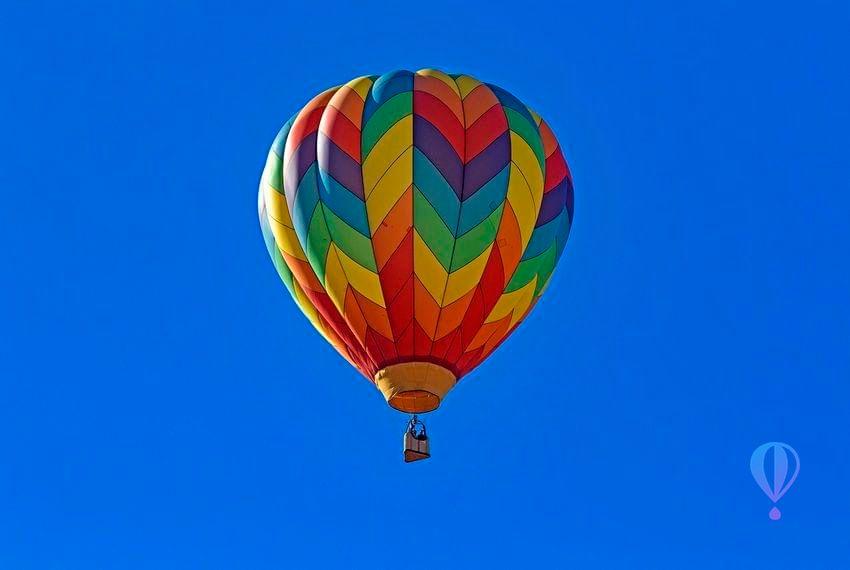 Watermarked balloon