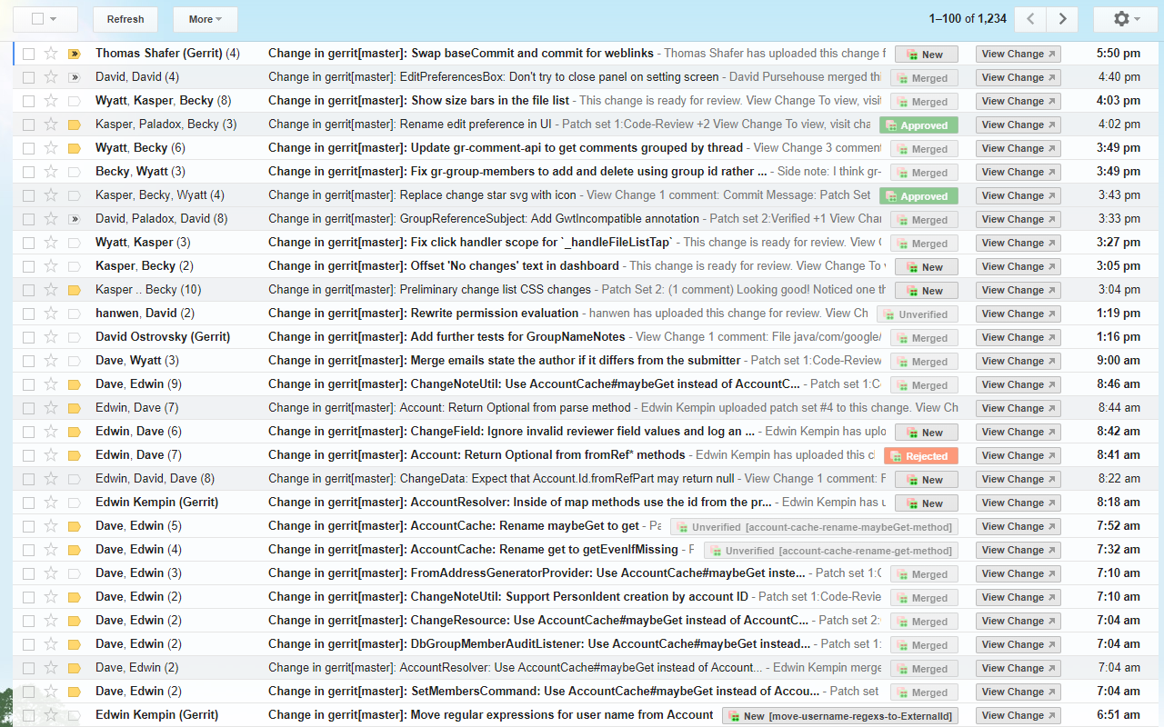 GitHub - chungwu/gmail-gerrit: Chrome Extension that allows
