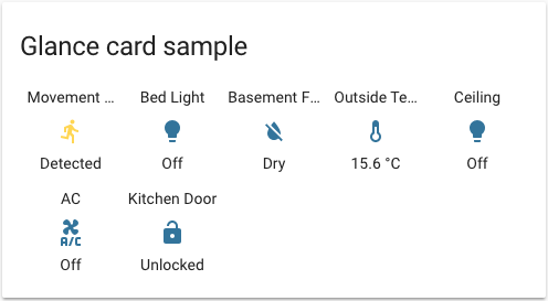Homeassistant Lovelace Examples