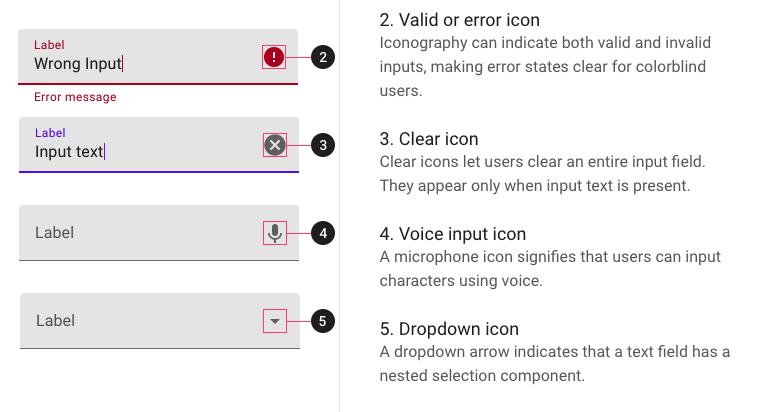 TextInput support Trailing Icon · Issue #792 · callstack