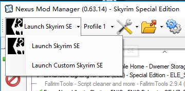 Cannot run Skyrim SE with SKSE64 through NMM(version 0 63 14