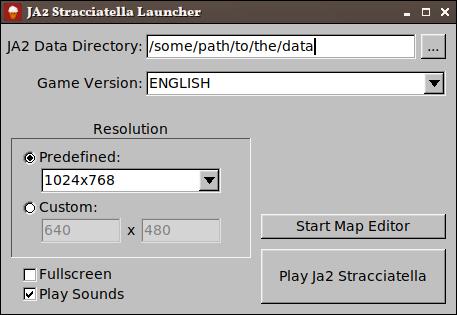 JA2 Stracciatella launcher