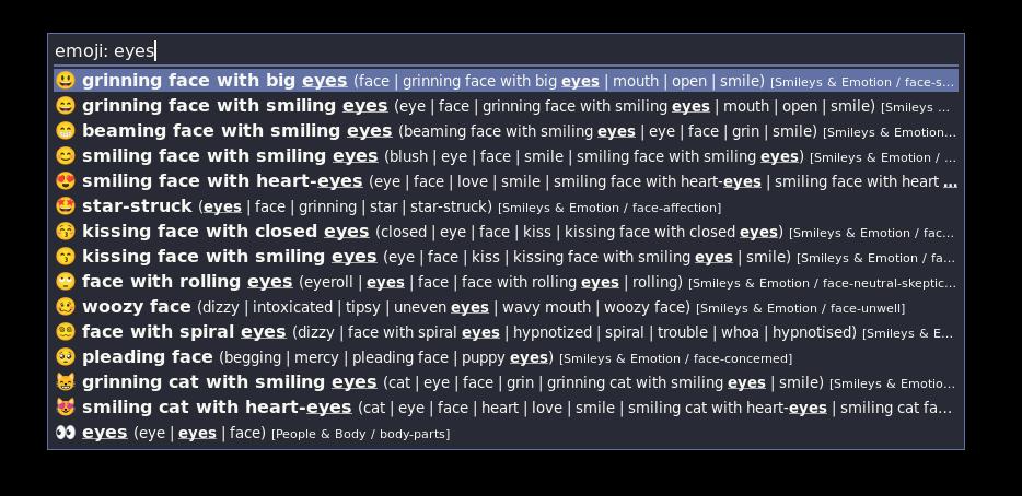 rofi-emoji