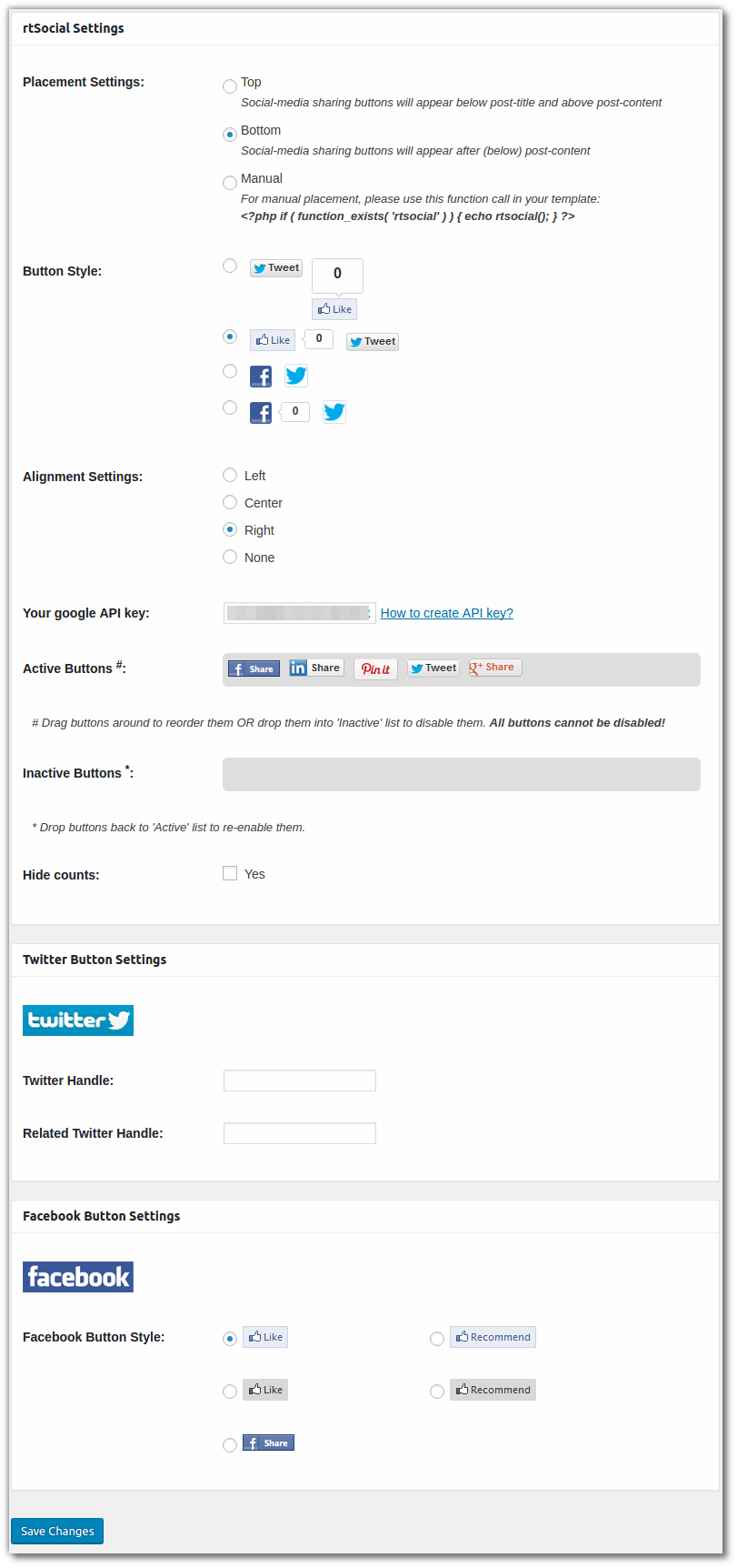 rtsocial-admin-setting-screen