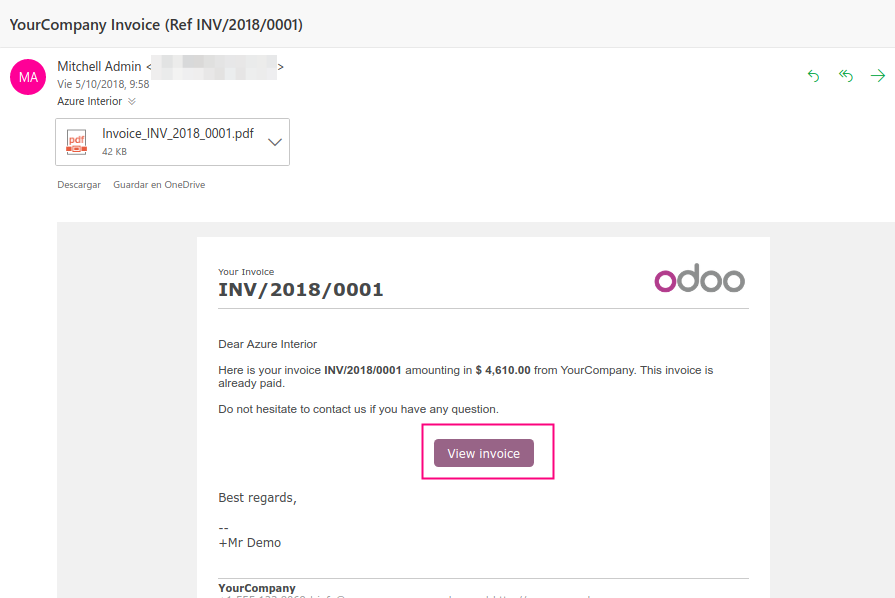 Portals User Error Cant See Your Invoices Issue - Open invoice login