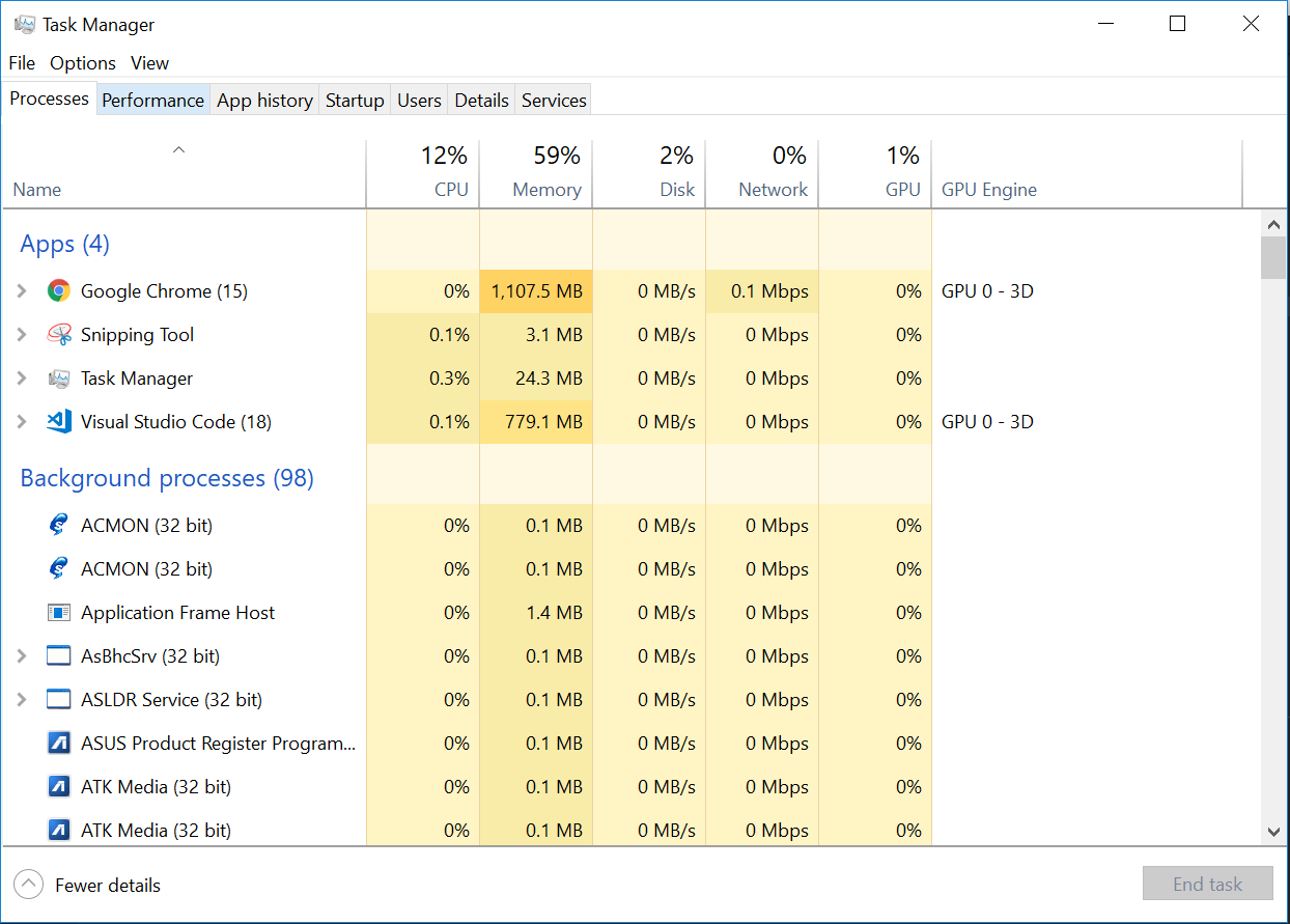 VSCode uses too much RAM upon Updating to latest version