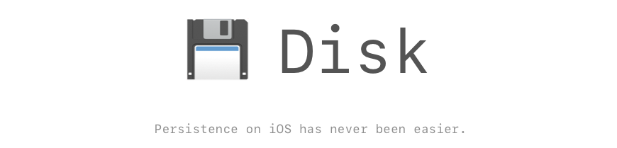 GitHub - saoudrizwan/Disk: Delightful framework for iOS to