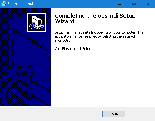 NDI Windows Installer - download server for NDI runtime is