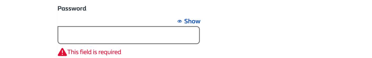 Password-std-validation