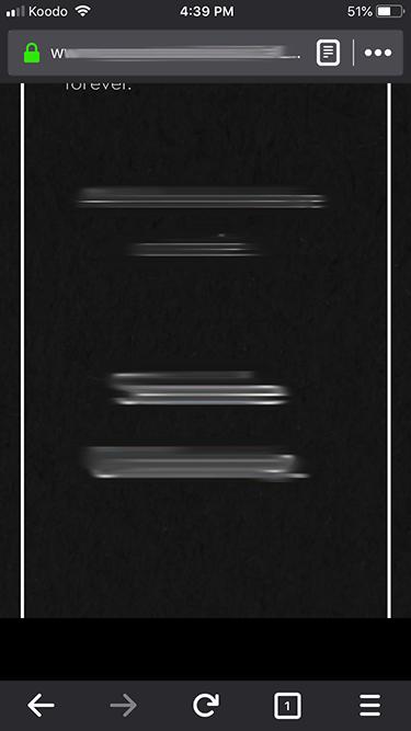 iOS-Safari - flickering, black squares when scrolling on body