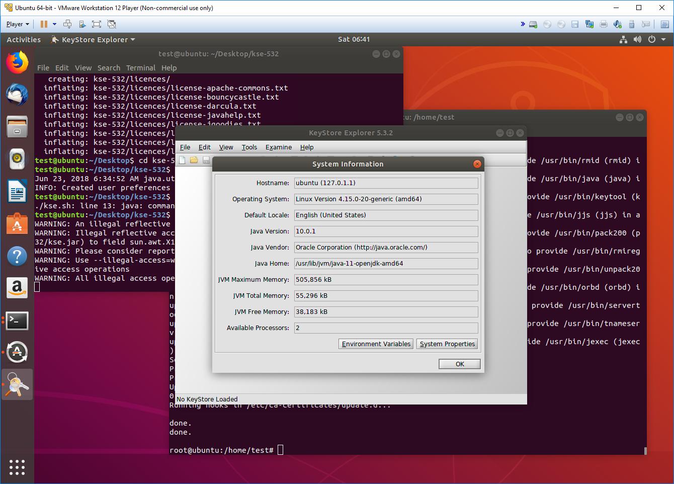 Unable to open the KSE on Ubuntu 18 04 · Issue #130