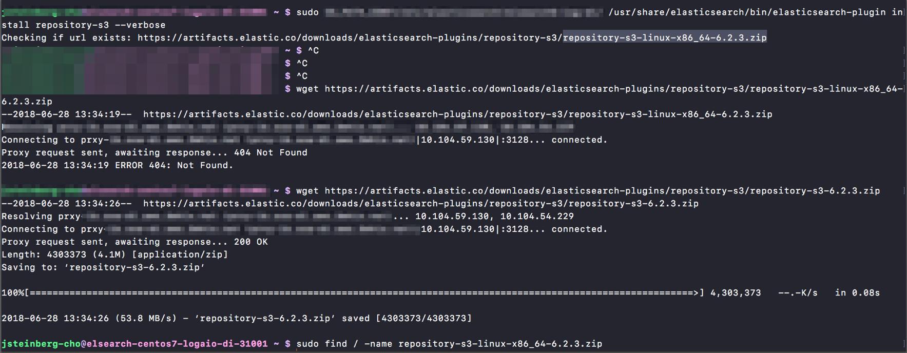 repository-s3 plugin URL incorrect in 6 2 3 · Issue #31668