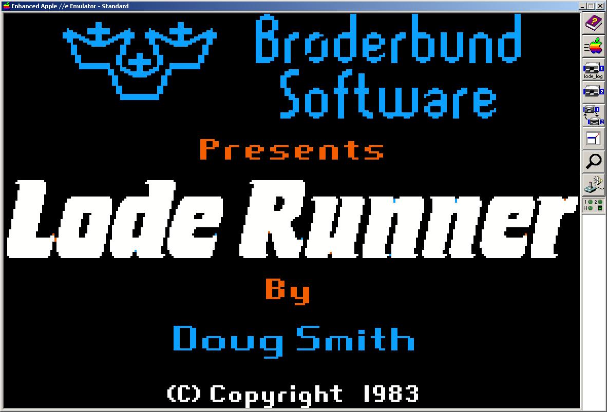1.24 Lode Runner Logo