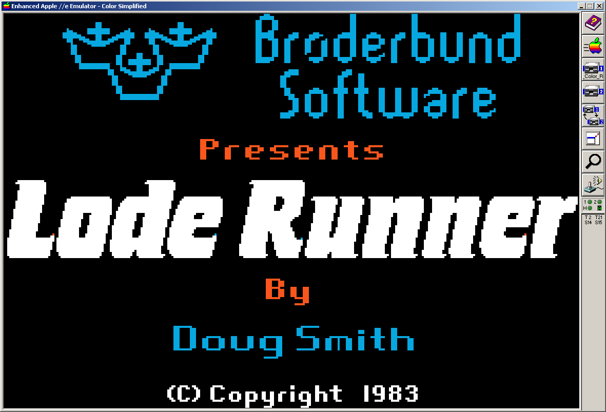 1.27 Lode Runner Logo