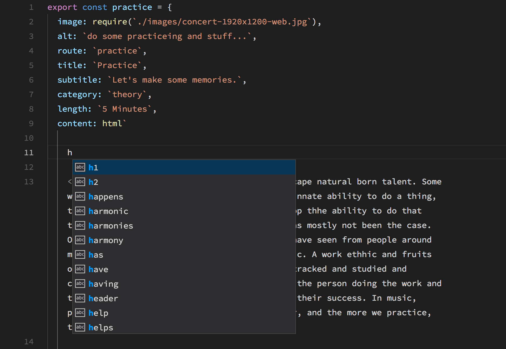 HTML autocomplete not working    · Issue #32 · mjbvz/vscode-lit-html