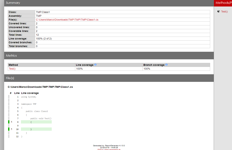 Integrate coverlet with VSTest (Microsoft Test Platform
