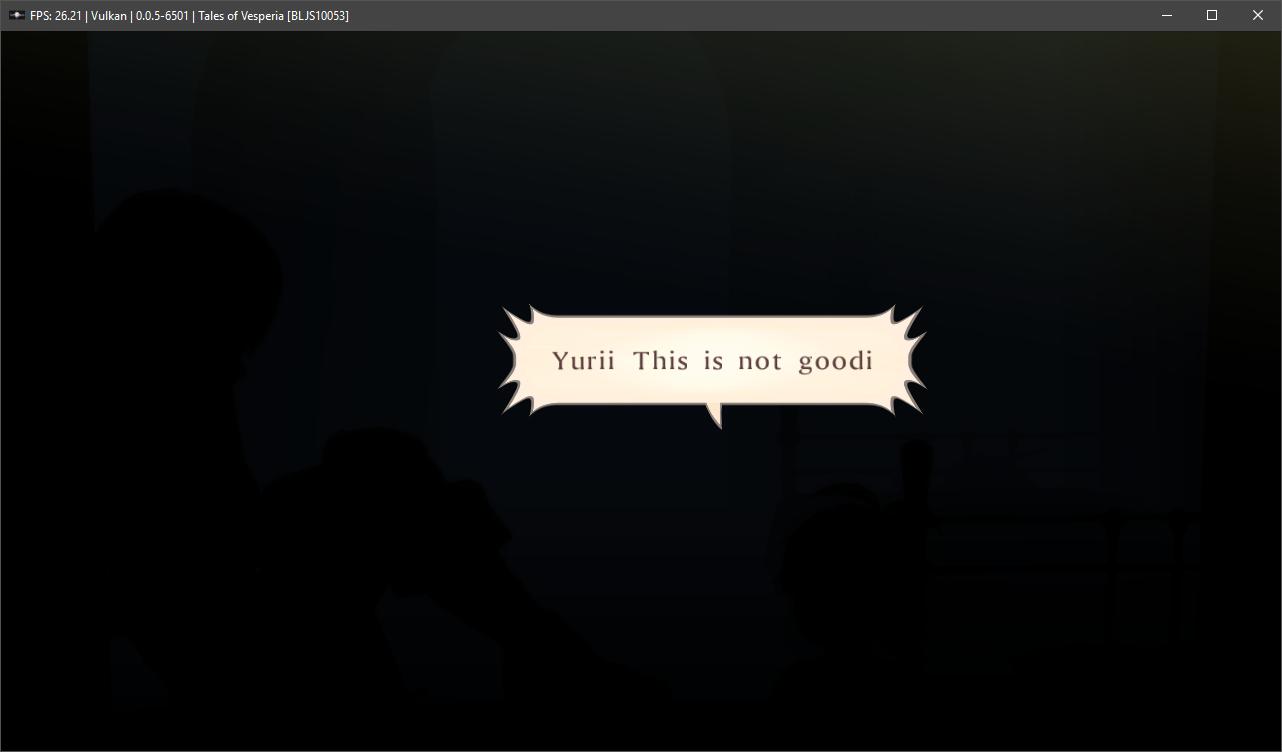 Developers - GL/VK: Tales of Vesperia - Rendering issues -