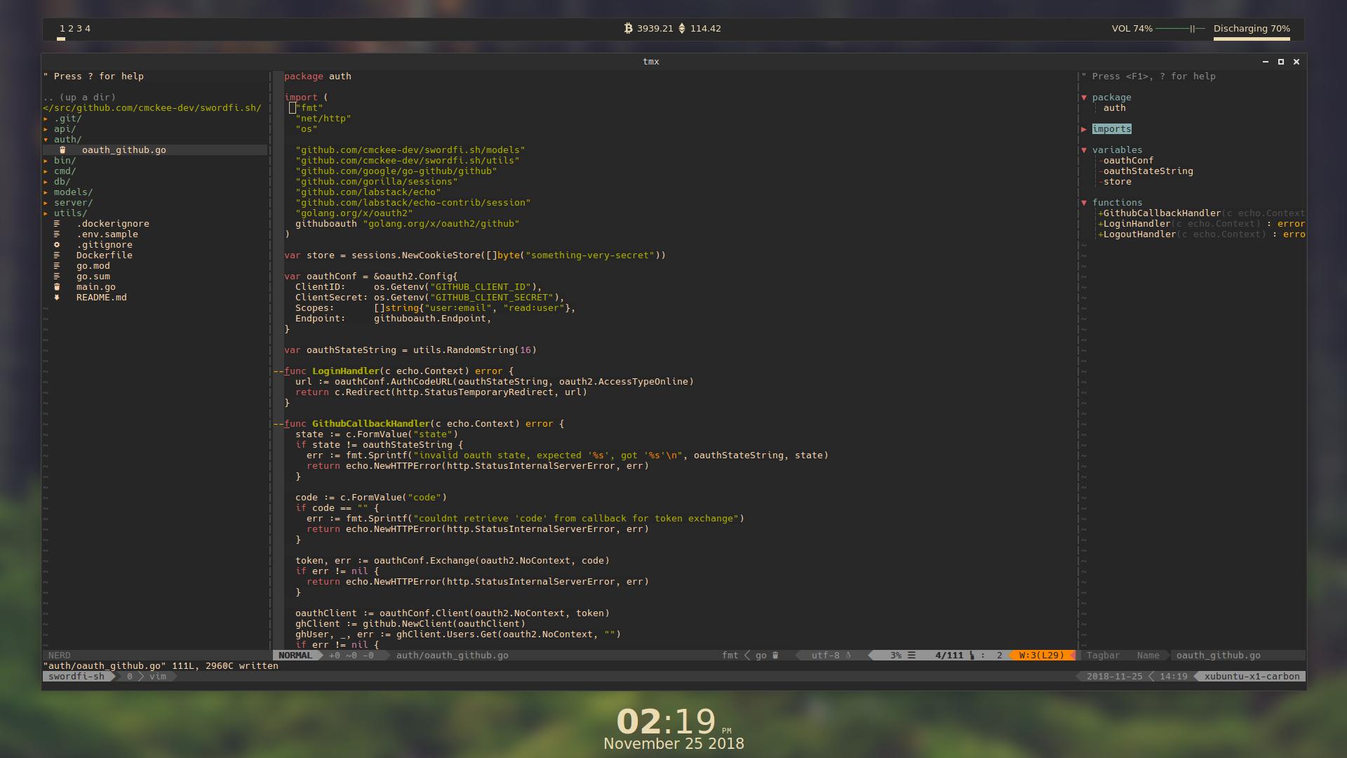 GitHub - cmckee-dev/dotfiles:  dotfiles for my current setup