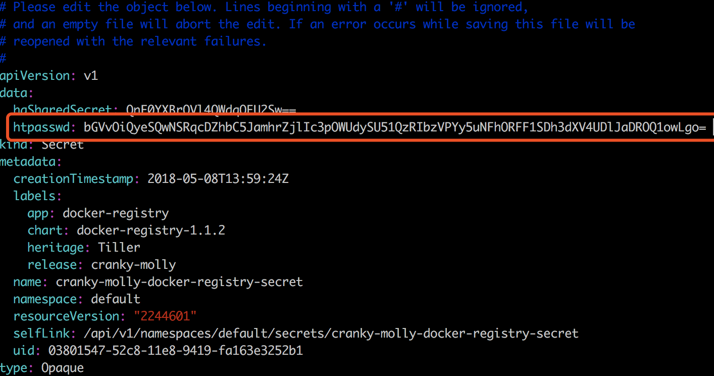 docker-registry] add authentication support · Issue #3298