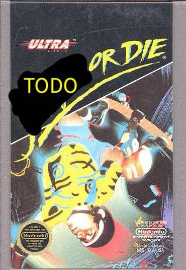 TODO or Die NES cart