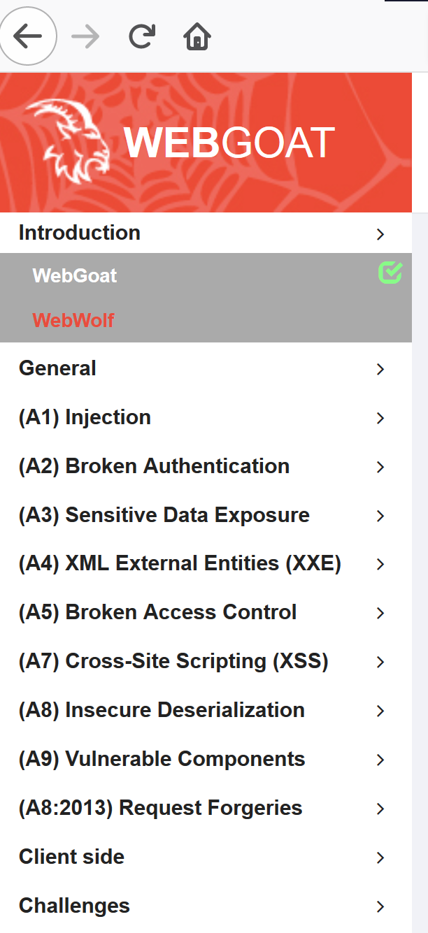 WebGoat - Bountysource