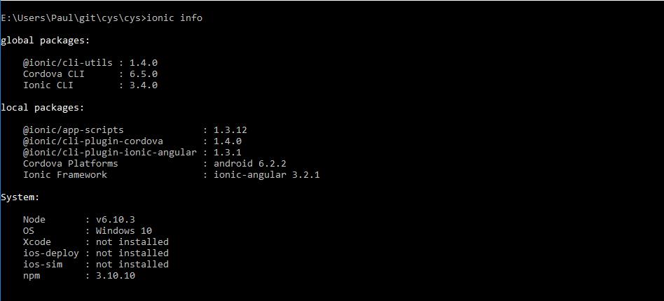 Developers - Error in ionic cordova build android --prod -