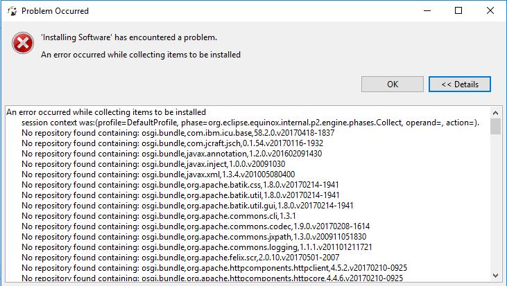 Error in Excel plug-in installation on Windows 10 · Issue