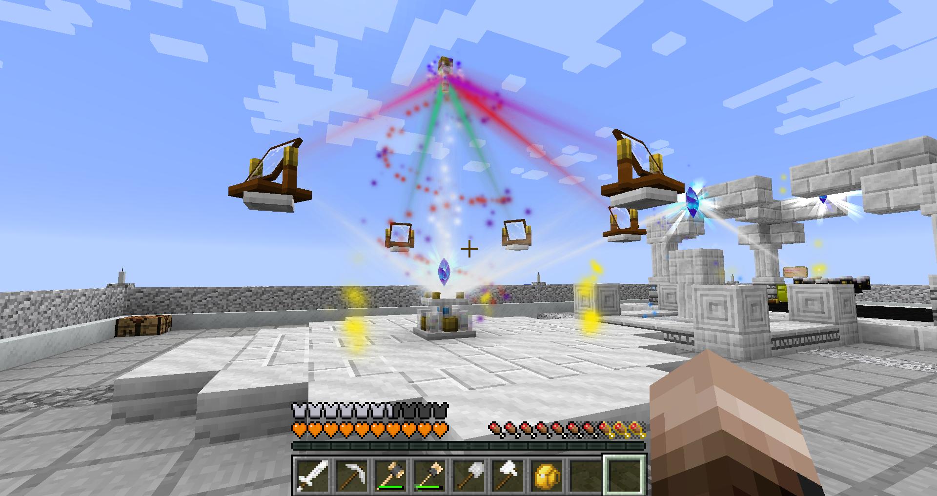 Crystal beams not showing · Issue #413 · HellFirePvP