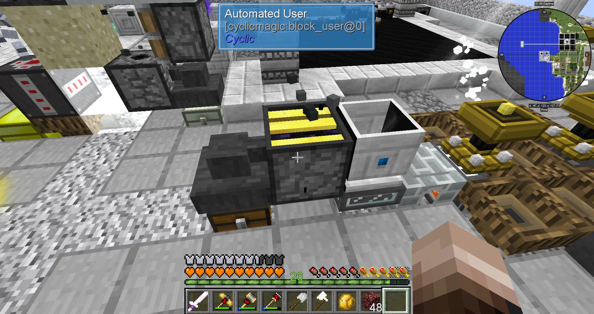 automated user cyclic