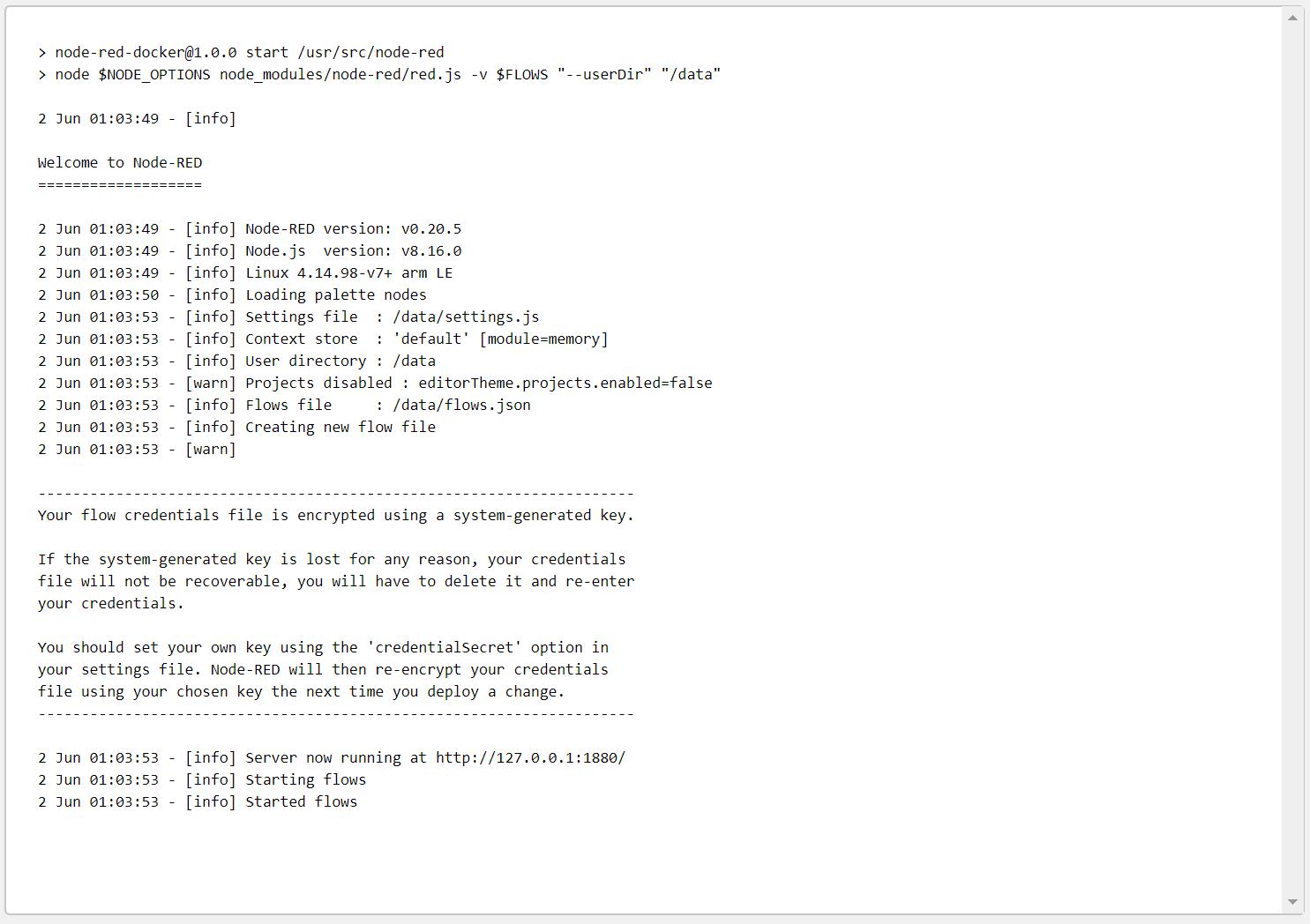 hypriot/rpi-node is deprecated in favour of arm32v7/node