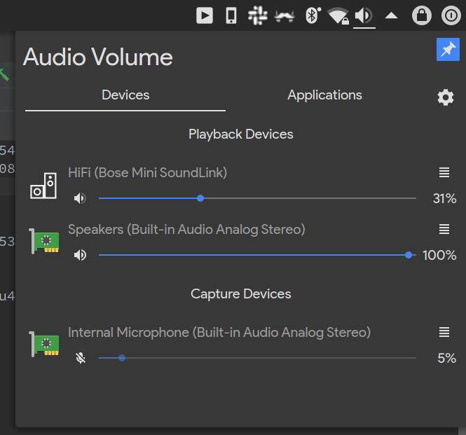 BUG] KDE Bluetooth speaker audio device monochrome instead
