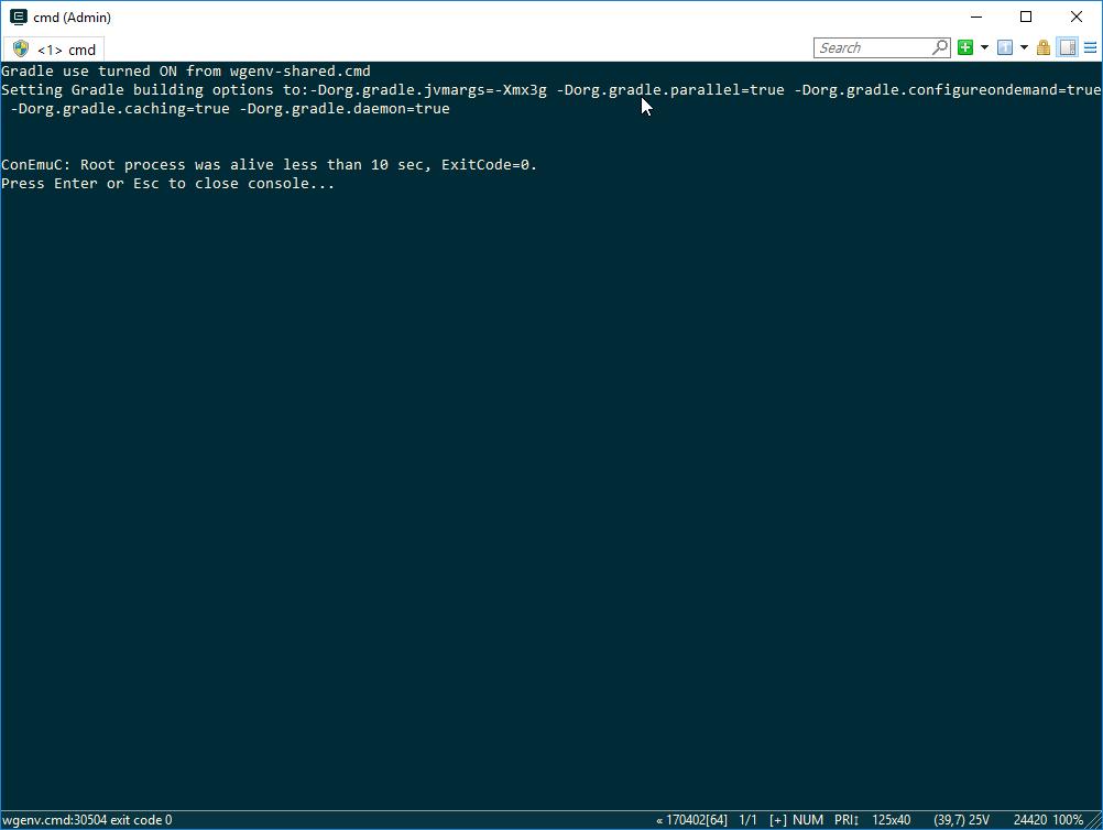 ConEmu exe /run fall to console · Issue #1191 · Maximus5