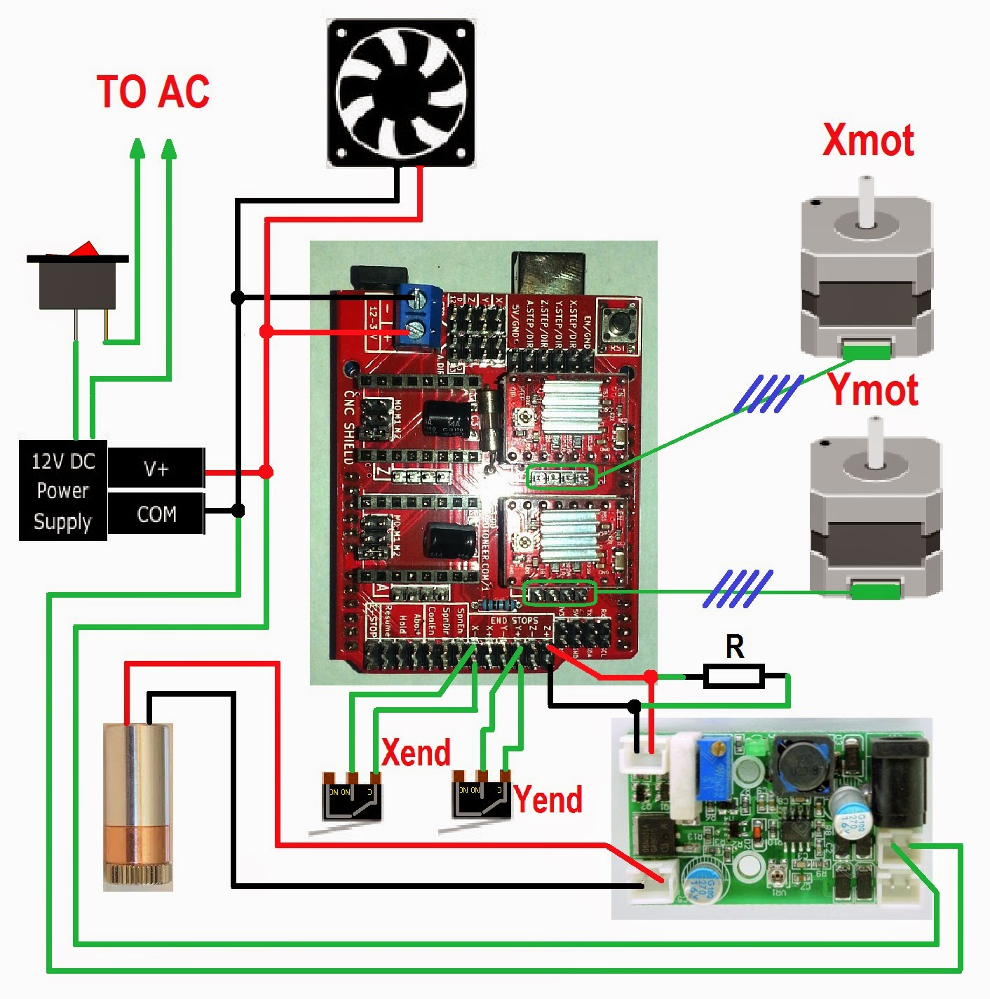 How to connect TTL Laser Module with arduino uno · Issue