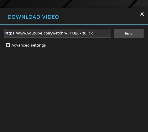 XDM YouTube URL