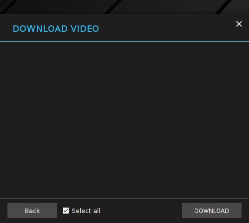 XDM YouTube URL Result