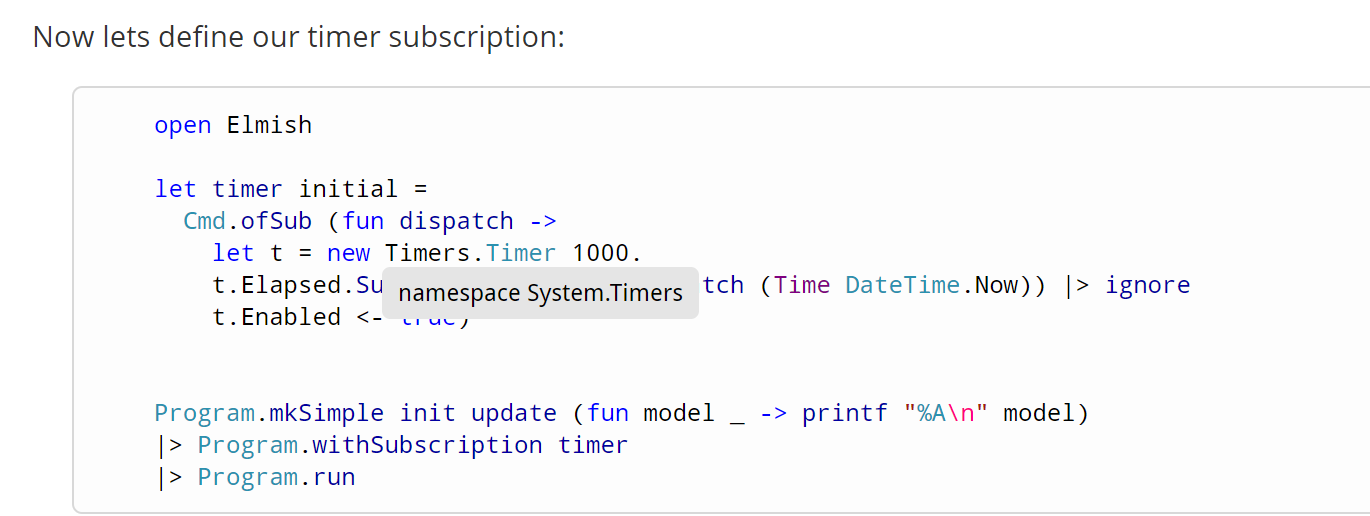 System Timers not in dotnet core · Issue #101 · elmish/elmish · GitHub