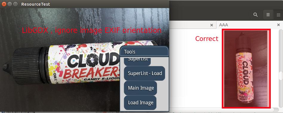 LibGDX ignore image / jpeg EXIF orientation · Issue #5206