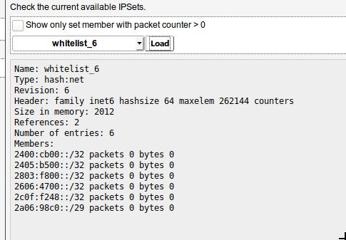 banIP: whitelist ignores IPv6 addresses · Issue #8184