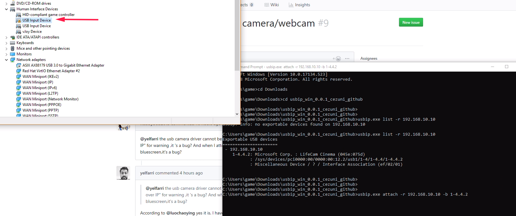 uvc (USB video device class) camera/webcam · Issue #9