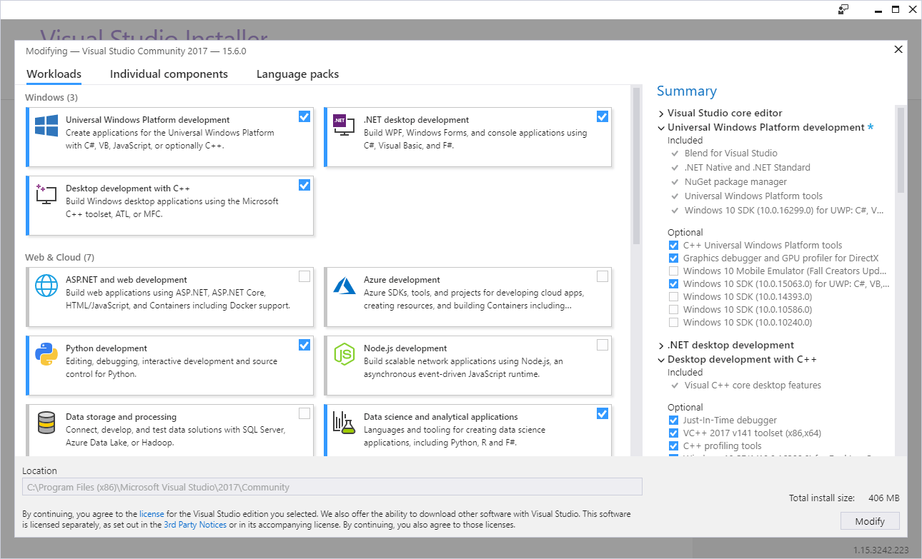 Compiling on Windows 10 with VS 2015 Professional · Issue