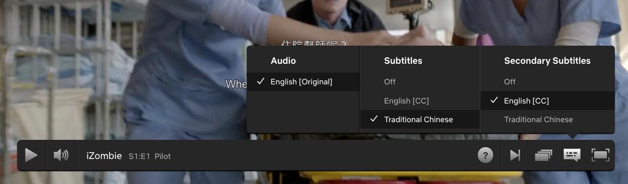 Netflix multi subs not working · Issue #20 · dannvix