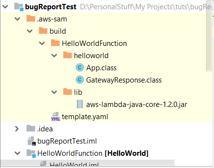 Cannot run Helloworld application locally for Java · Issue