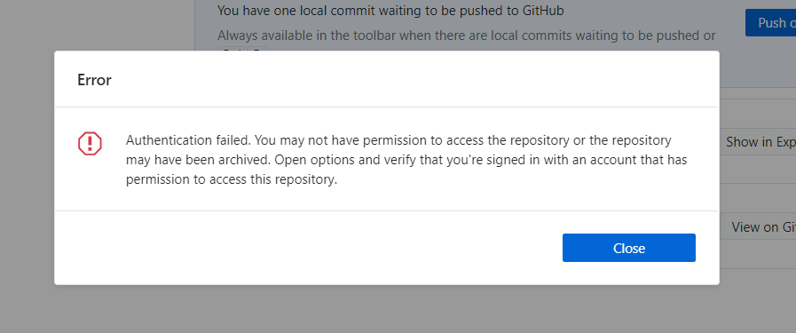 Ssh-agent is running  Authentication failed  I cannot push on repos