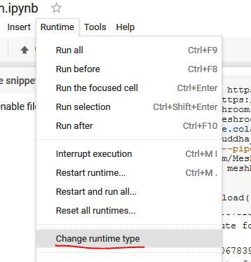 Google Colab Run Python Script