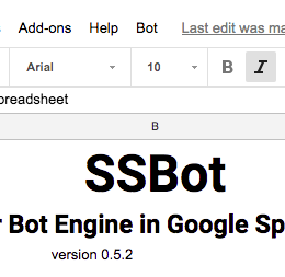 New Bot sheet (v 0 5 2) missing the bot menu in sheet · Issue #6