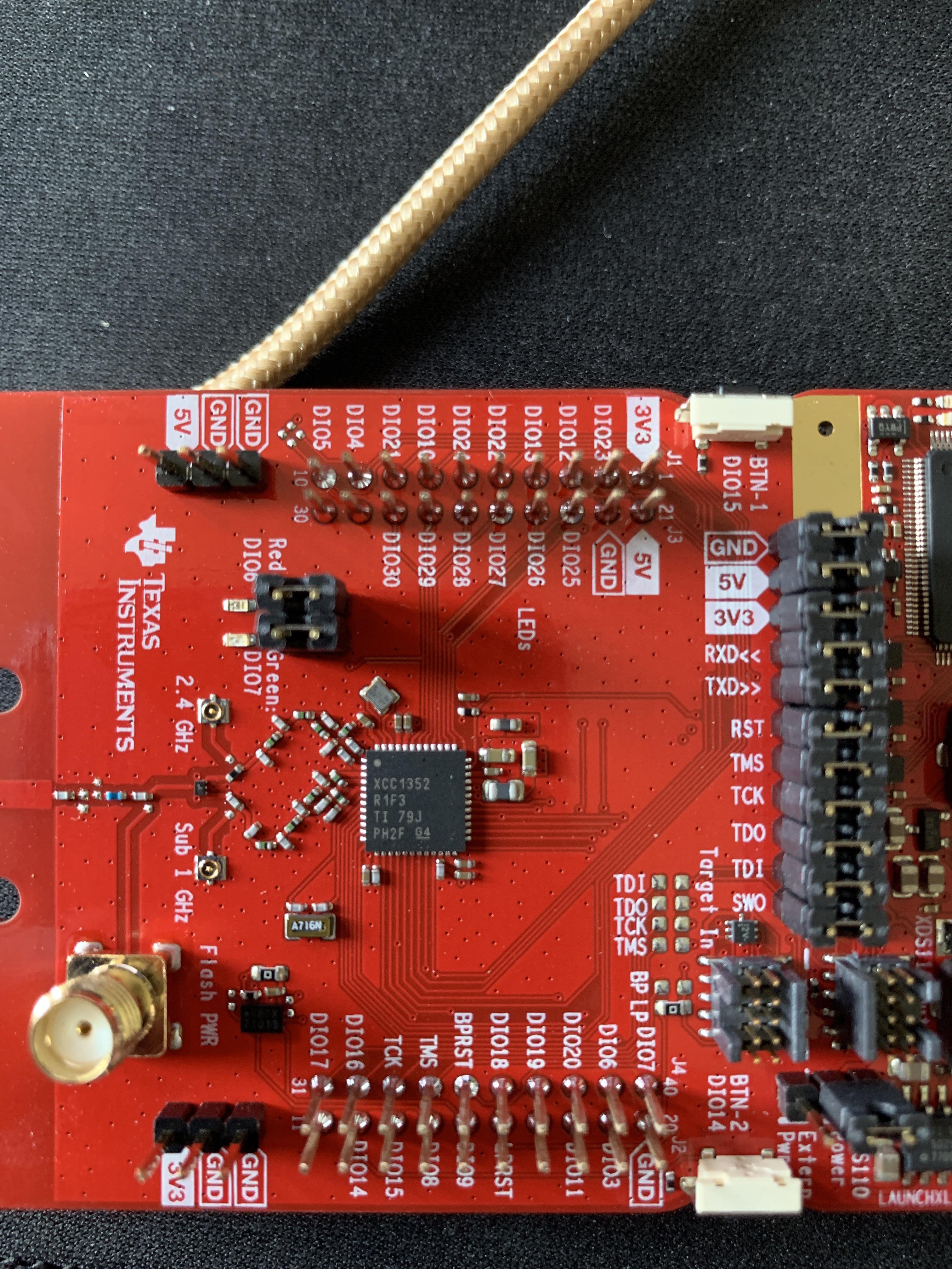 wei/ß Firmware und Antenne ZigBee Gateway CC1352P-2 Coordinator mit Geh/äuse