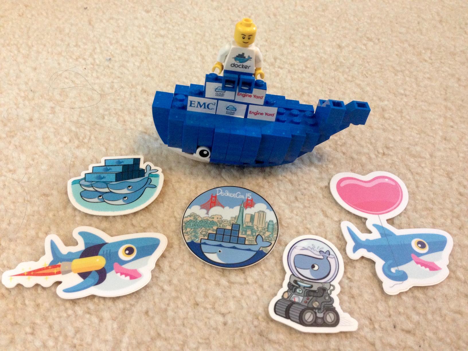 Dockercon 2015 Swag