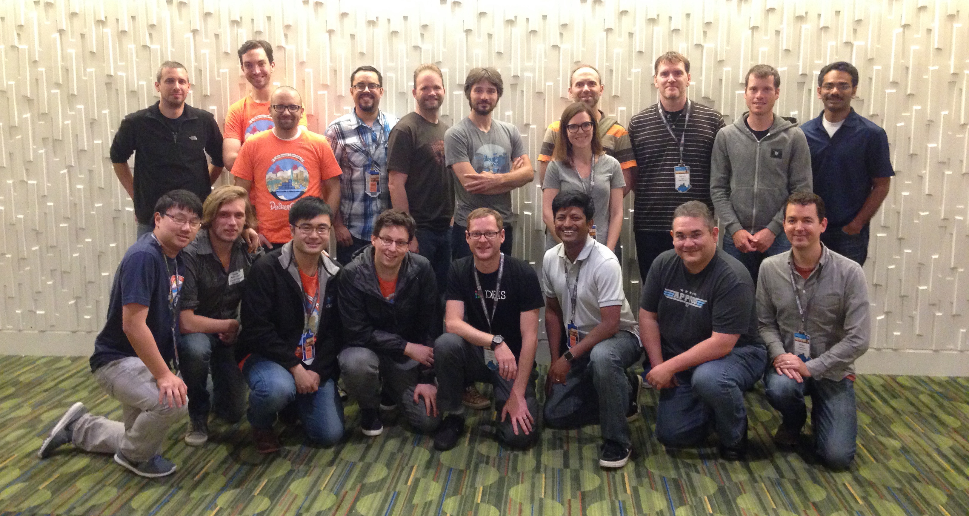 Docker team and CenturyLink Labs team