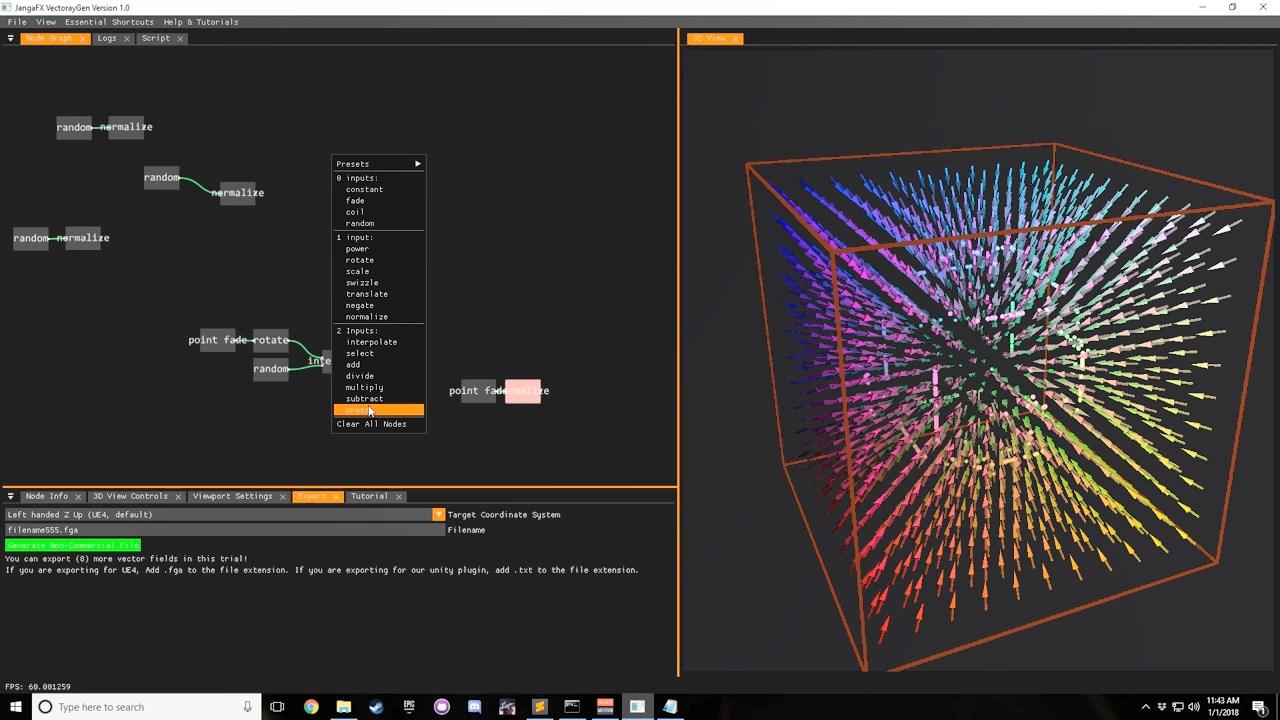 vectoraygen tutorial 1